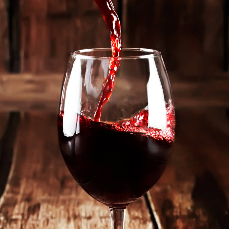 ' One cannot think well, love well, sleep well, if one has not dined well.'  – Virginia Woolf red wine